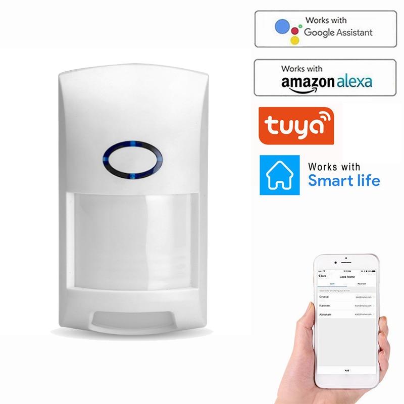 Detectors Alarm Motion-Sensor Tuya Smart-Wifi PIR Outdoor Infrared Wireless with Home
