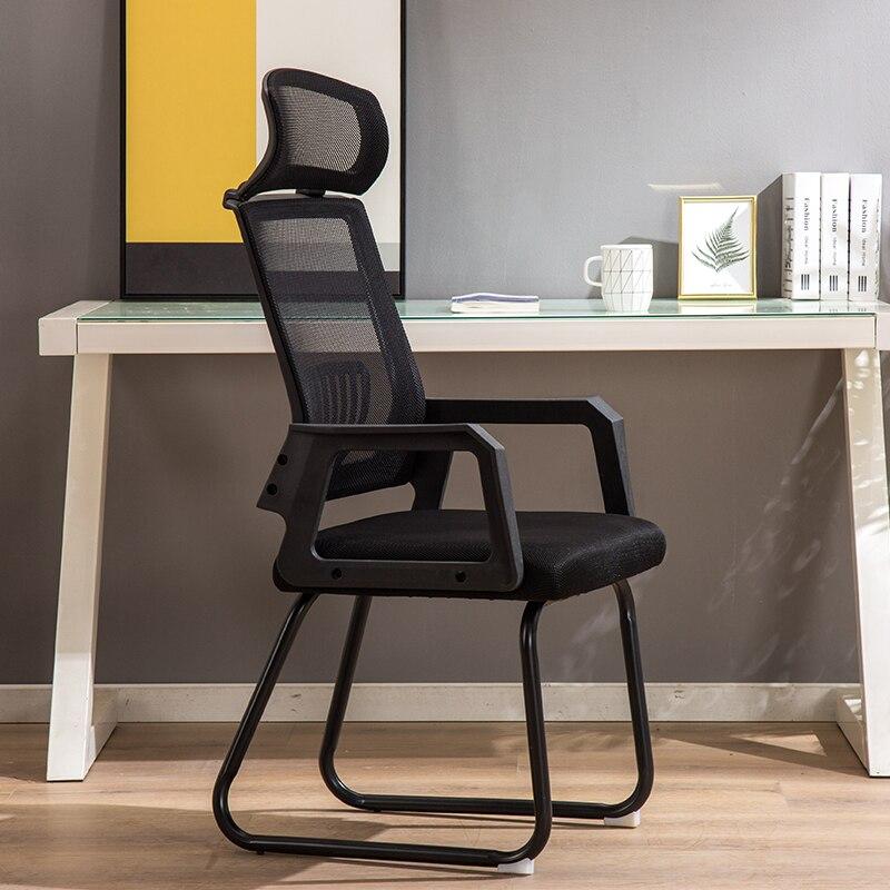 Office Chair Computer Mesh Chair Staff Backrest Chair Meeting Chair Simple Ergonomic Office Furniture Minimalist