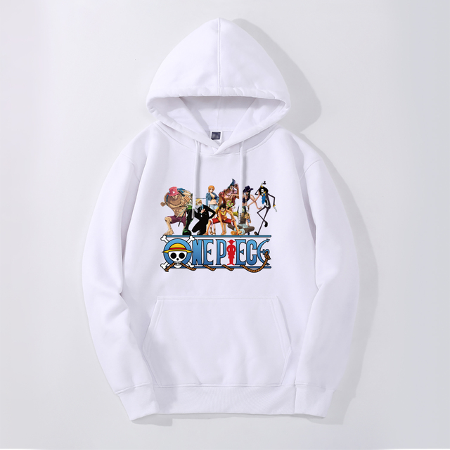 ONE PIECE THEMED HOODIE (8 VARIAN)