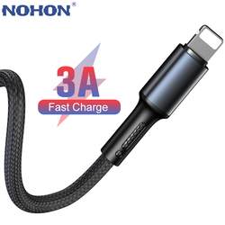0.2 1M 2M 3M Data USB Fast Charge Charger Cable For iPhone 5 5s 6 6s 7 8 X XS 11 12 iPad Genuine Cord Wire Mobile Phone Cables