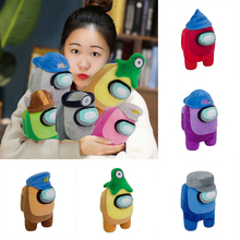 Among in Us Plush Toys, Soft Crewmate Plushies Cute Astronaut Stuffed Plushies Doll Gifts Build-in BB Whistle