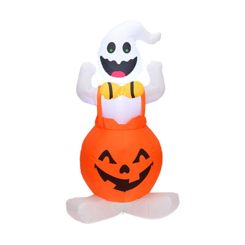 1Piece Halloween Inflatable Pumpkin Outdoor Scary Decoration Party Blow in Up Witch