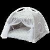 Gato quente do inverno cama dobrável pequenos gatos tenda casa gatinho para o cão cesta camas bonito casas de gato casa coxim pet canil produtos 6