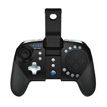 GameSir G5 z gładzikiem i konfigurowalnymi przyciskami ognia, Moba/FPS/RoS bezprzewodowy kontroler do gier Bluetooth na telefony z androidem