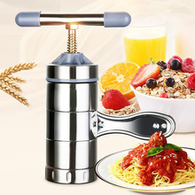 Stainless Steel Pasta Noodle Maker Fruit Juicer Press Spaghetti Kitchen Machine FAS6