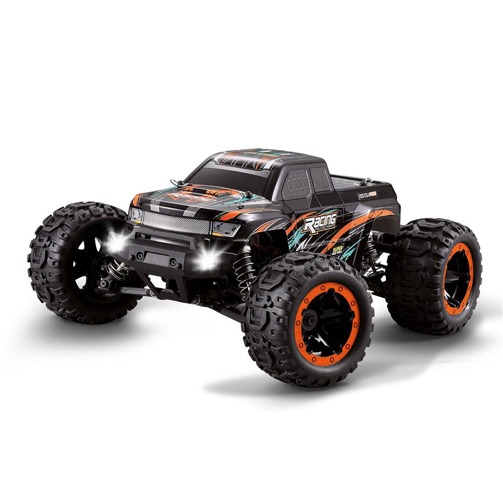 LeadingStar HBX 16889 1/16 2.4G 4WD 45km/h Brushless RC Car With LED Light Electric Off-Road Truck RTR Model VS 9125