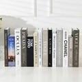 Домашний декор, искусственные книги, современная мода, имитация декоративных книг, имитация роскошного домашнего декора, мягкая модель для ...