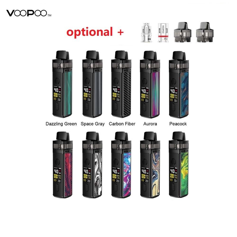 Hot Original VOOPOO VINCI Mod Pod Vape Kit E-cig W/ 1500mAh Battery & 5.5ml Pod & 0.96 Inch TFT Color Screen Vs Drag Nano/Shogun