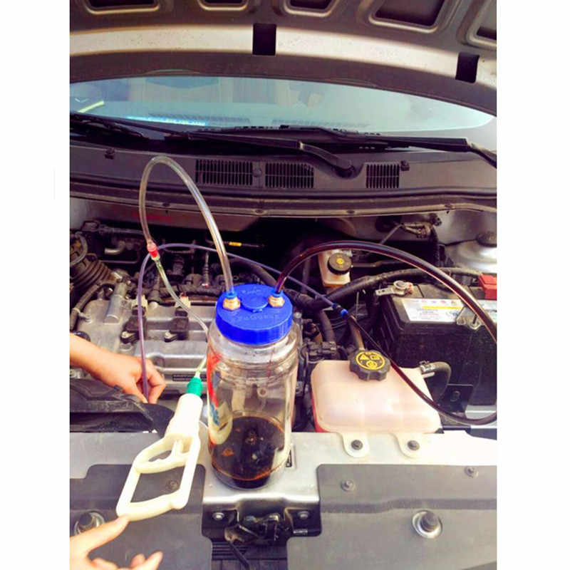 2L 엔진 오일 교환 유물 수동 진공 펌프 변경 오일 흡입 펌프 자동차 수리 도구 자동차 도구 역학 오일 펌프