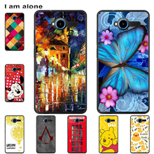 цена на Phone Cases For ZTE Blade L3 2015 5.0 inch Hard Plastic Mobile Bags Cartoon Printed For ZTE Blade L3 2015 Cover Free Shipping