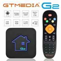New Brazilian IPTV GTMEDIA G2 TV Box+IPTV Live TV VOD 7000+Liv Set Top Box 4K HD H.265 2.4G Wifi media player M3U TV BOX