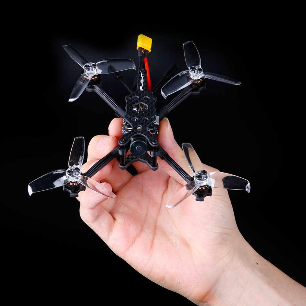IFlight TurboBee 120RS 2-4s микро FPV гоночный Радиоуправляемый Дрон sucex Micro F4 12A 200mW Turbo Eos2 PNP BNF TINYWHOOP
