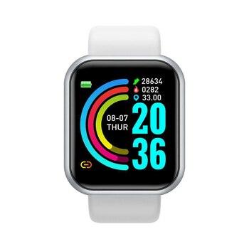 Y68 Smart Watch Men Wristwatches Smartwatch Electronic Clock Fitness Monitor Men Gift Reloj inteligente for Huawei Relogio SB001 3