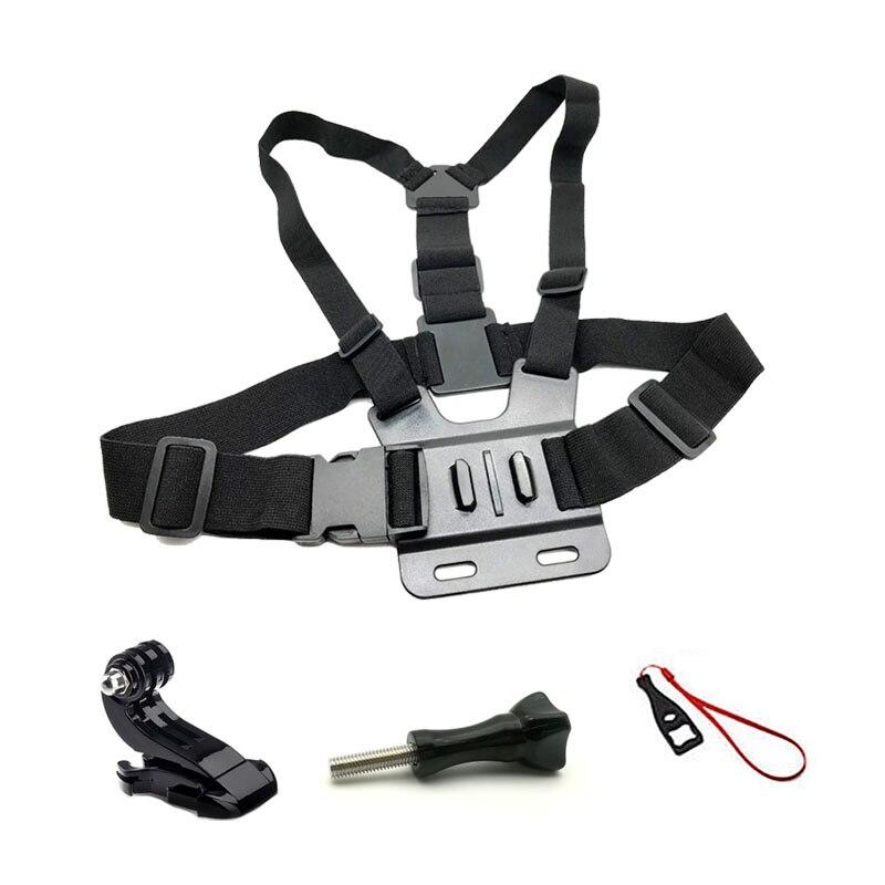 Straps Mount For Gopro Hero 8 7 6 5 4 Session Kit For Go Pro Action Camera Chest Belt For Xiaomi Yi 4K EKEN H9 H9R SJCAM SJ4000