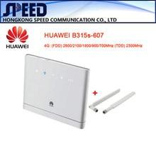 Unlocked Huawei B315s-607 4G LTE WiFi Modem +2PCS ANTENNA
