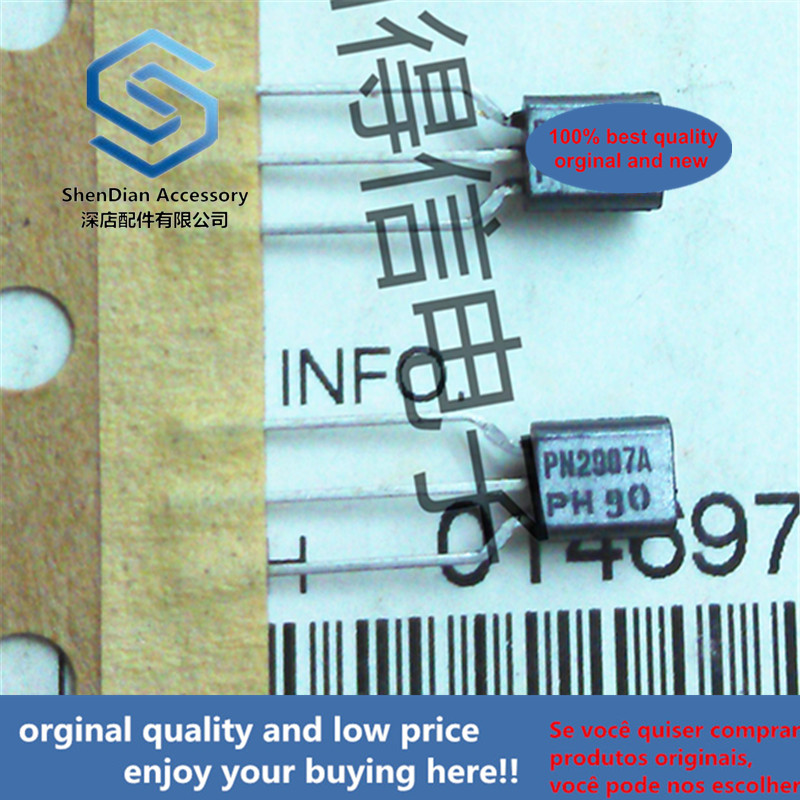 30pcs 100% Orginal New PN2907A 2N2907  TO-92 PNP Silicon Transistor  Real Photo
