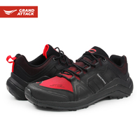 Outdoor Soft Shell Lace up Mens Shoes Camping Trekking Camping size 41 45