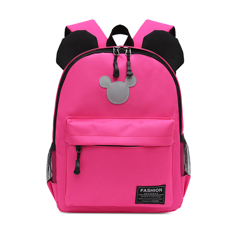 New Kindergarten Small Class Schoolbag Cartoon Children Backpack 2-5 Years Old Boys And Girls Travel Play Backpack Mochila Bag