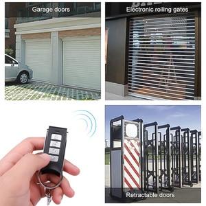 Image 3 - KEBIDU télécommande 4 canaux clonage électrique pour porte porte de Garage porte automatique porte clés sans fil 433Mhz copie Code à distance