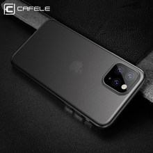 CAFELE case voor iphone 11 pro max cover ultra dunne PP matte mobiele telefoon gevallen(China)