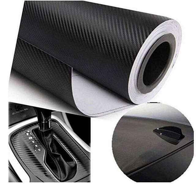 1.27Mx30cm 3D Carbon Fiber Vinyl Car Wrap Sheet Roll Film Car stickers and Decals Motorcycle Car Styling Accessories Automobiles