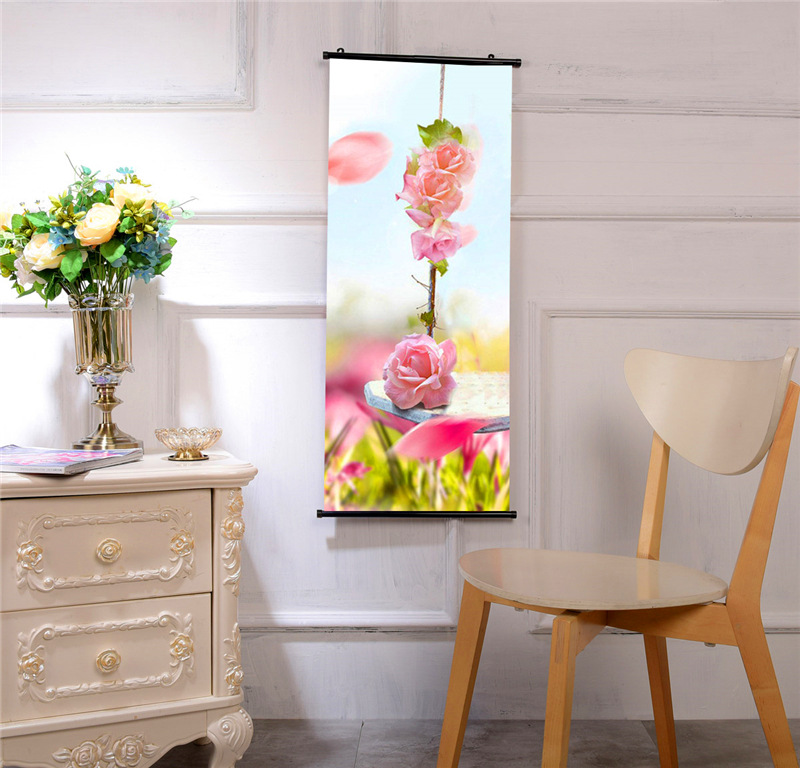 Anime Peripheral Customizable Creative Celebrity Related Goods Home Paintings Fabric Hanging Painting Enterprise Hanging Paintin