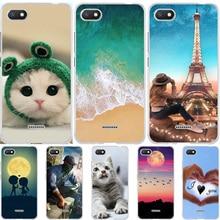 Case For Xiaomi Redmi 6A Silicone Cover Xiomi Xioami Coque Funda Animal Cute Bags Redmi6A Phone Cases