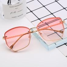 SHEN NUO 2019  HOT ! women glasses for driving feminino hexagon driver lady sunglasses pink modis night vision goggles