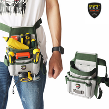 Tool Bag High-Capacity Electrician Tools Waist Storage Bag Belt Tool Case for Pocket Wire Organizer