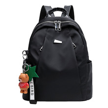 Simple Schoolbag 2020 New Korean Fashion Oxford Cloth Backpack Female Large Capacity Lightweight Waterproof Travel Backpack oxford cloth waterproof unisex large capacity student backpack simple casual backpack college style gray