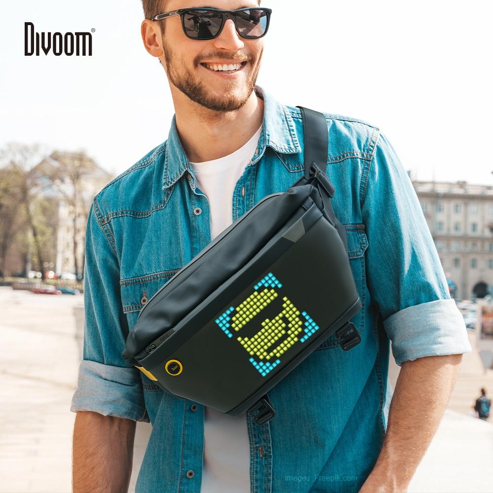 Divoom Customizable Pixel Art Sling Bag 1
