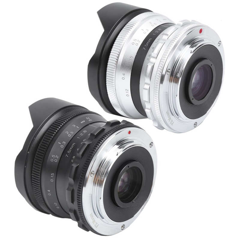 7.5mm F2.8 Fx Mount Ultra Wide Angle Fisheye Scenery Manual Focus Fixed Lens For Fuji X- T4/x -t3/x -t30/x -s10 Moderate Price