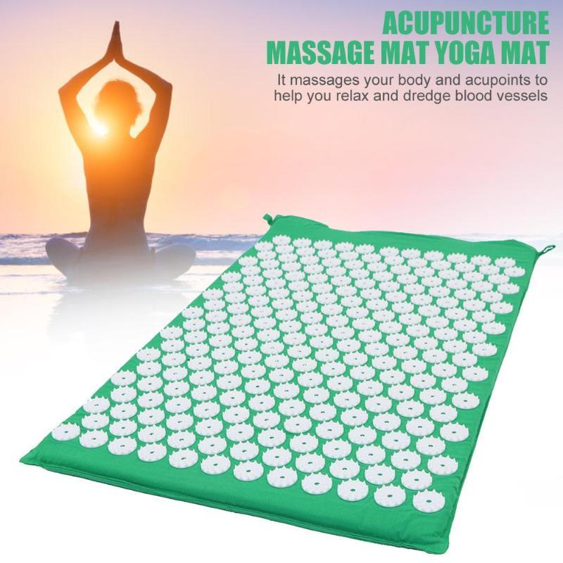 Massage Mat Workout Mat Acupuncture Relax Yoga Mat Pain Relief Stress Relief UK