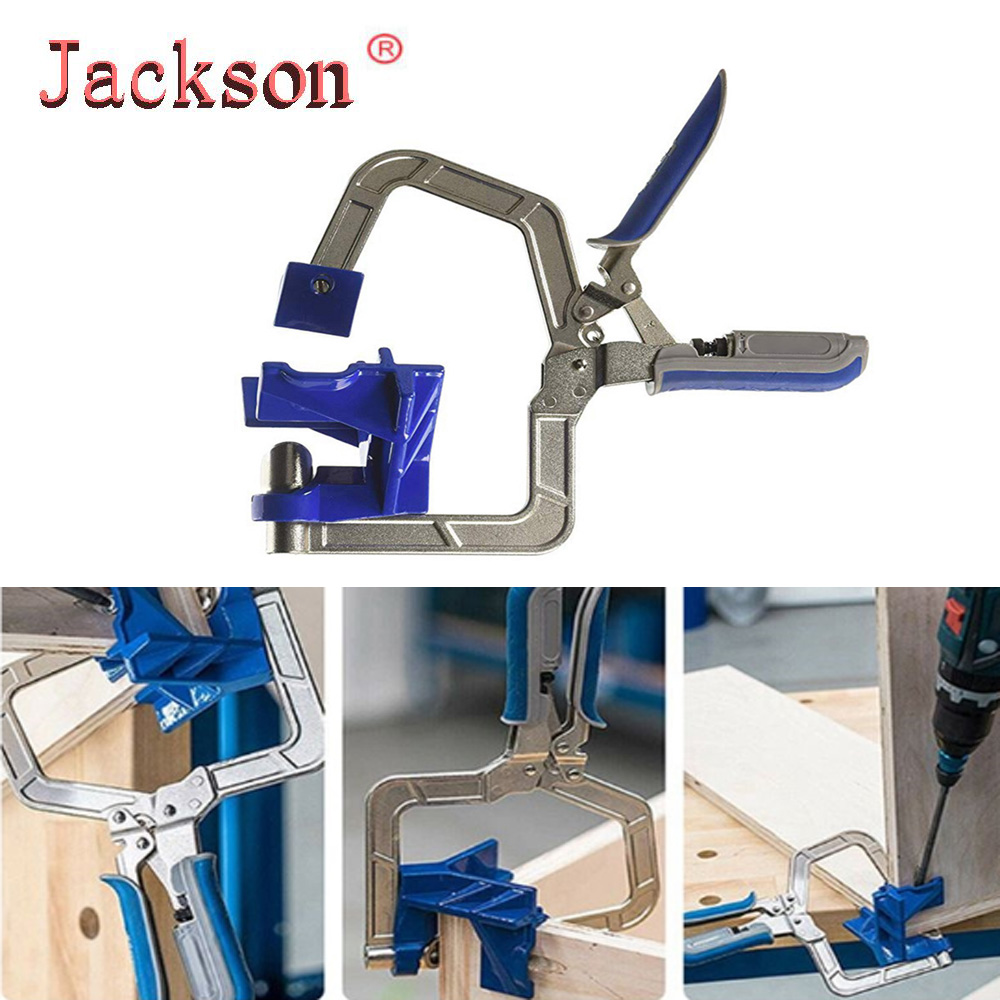 Auto-adjustable Rugged 90 Degree Corner Clamp And Face Frame Woodwork Right Angle Clamp Fit Tool Woodworking Clamp Corner Clamp
