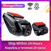 Range Tour 4K Car DVR Dash Cam 2880*2160P Car Camera Dual 1080P GPS WiFi ADAS Driving Recorder Motion Detection Night Vision