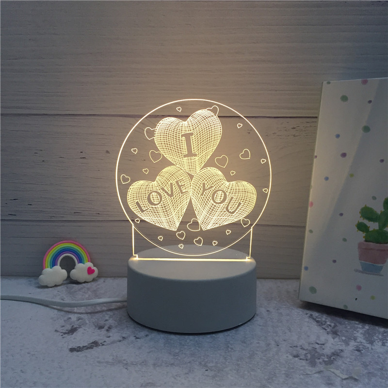 Image 5 - SOLOLANDOR 3D LED Lamp Creative 3D LED Night Lights Novelty Illusion Night Lamp 3D Illusion Table Lamp For Home Decorative Light-in LED Night Lights from Lights & Lighting