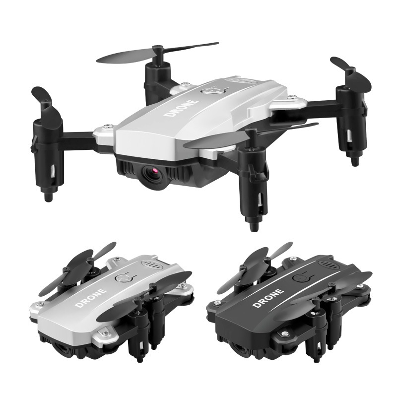 Mini Drone Foldable RC Helicopter With Camera WIFI FPV Remote Control Four-Axis Aircraft RC Drone Aerial Quadcopter Toys For Kid