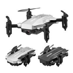 Mini Drone składany RC helikopter z kamerą WIFI FPV pilot zdalnego sterowania  że czterech osi samolotu RC Drone z lotu ptaka Quadcopter zabawki dla dzieci