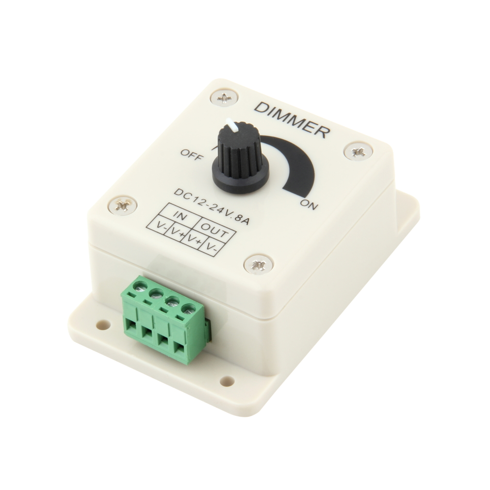 1Pc High Quanlity 12V 8A PIR Sensor LED Strip Light Lamps Switch Dimmer Brightness Controller Newest New Arrival