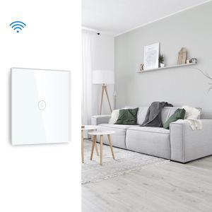 Image 5 - Bseed Wifi Lichtschakelaar 1 Gang Smart Switch Draadloze Wifi Schakelaar Wit Zwart Gouden Kleuren Ondersteuning Voor Tuya Google Assistent