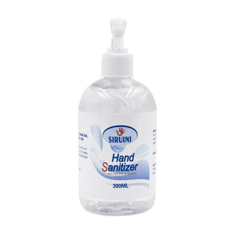 300ml Travel Portable Hand Sanitizer Gel Anti-Bacteria Moisturizing Liquid Disposable No Clean Waterless Antibacterial Hand Gel