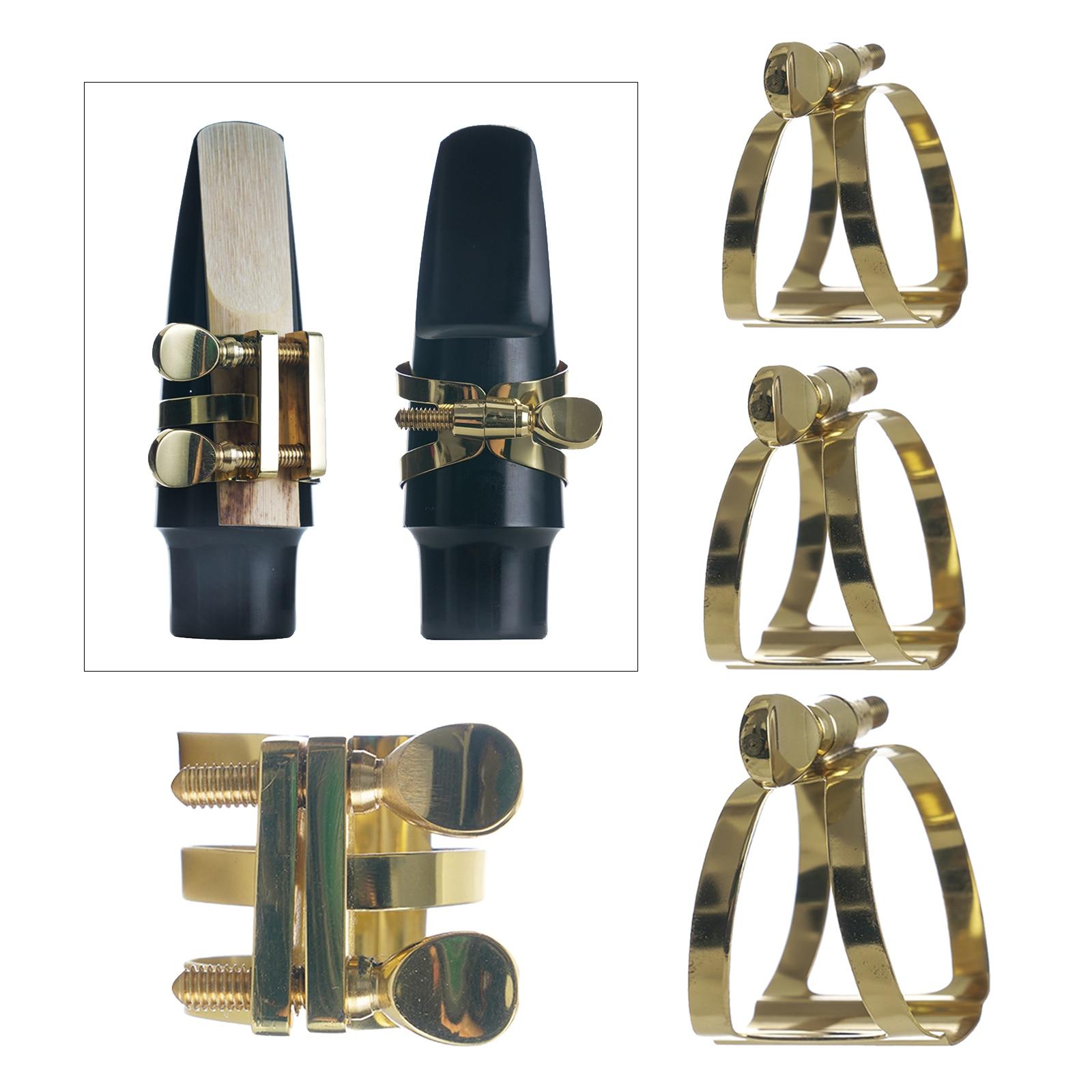 Saxophone Mouthpiece Ligature Soprano Alto Access Tenor Adjust for Fastener