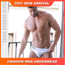 Fashion Low waist Sexy Mens Underwear Briefs Solid Male Underwear Cotton Men's Briefs Bikini Gay Underwear Cuecas Slip