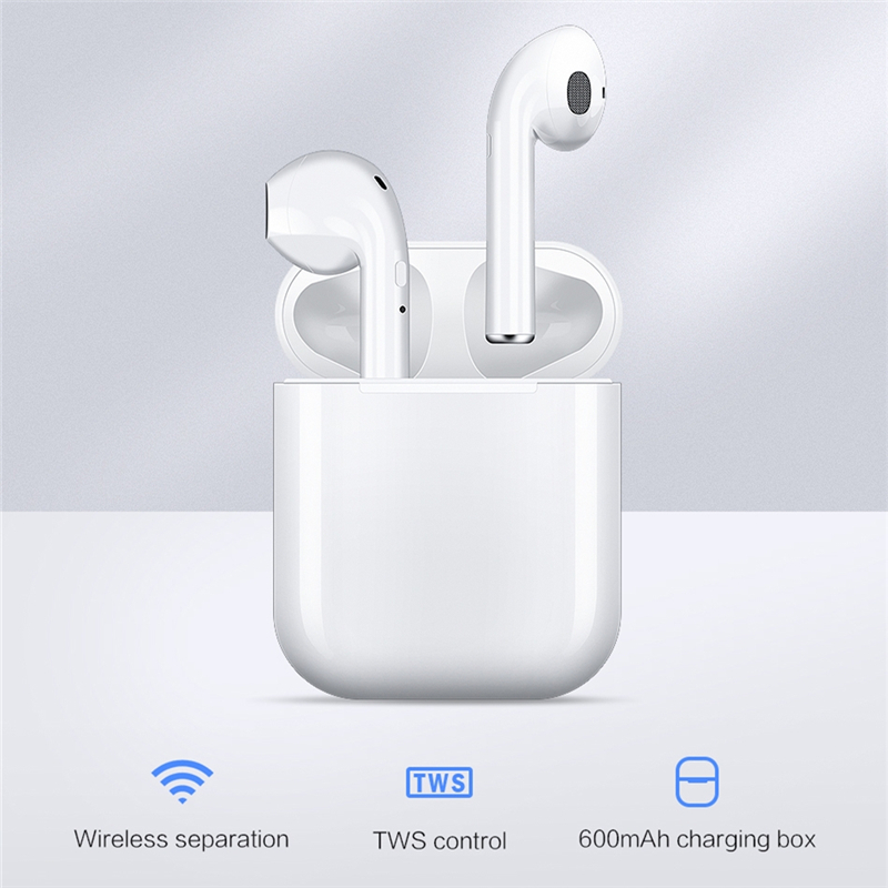 New I9s Tws Earphones Mini Wireless Bluetooth Earphones Wireless Headsets Earbuds Bluetooth 5.0 For Xiaomi Apple IPhone Headsets