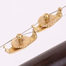 2 шт. портативный тонкий тюнинг высокого класса Pratical Erhu Триммер Инструмент Urheen тюнеры аксессуар легкий струны профессиональный