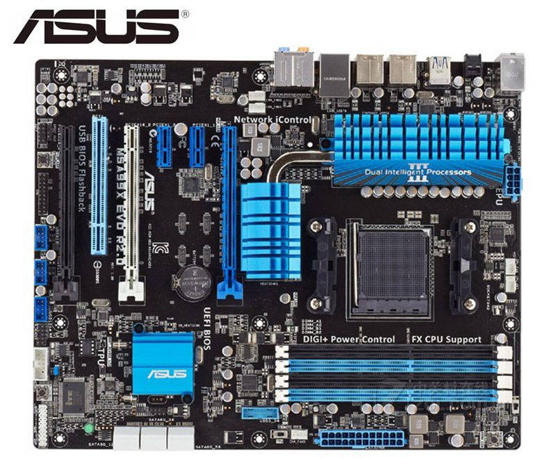 Asus M5A99X EVO R2.0 Original Desktop Motherboard   Socket AM3+ DDR3 32GB SATA3 USB3.0 USB3.0 ATX Z97 Used Mainboard Boards Pc
