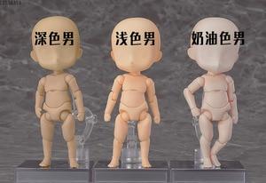 Image 2 - 1pcs יפני אנימה בובת ילד האבטיפוס ילדה האבטיפוס תינוק Bodykun Bodychan שרף אוסף 1/6 PVC איור פעולה דגם צעצועים