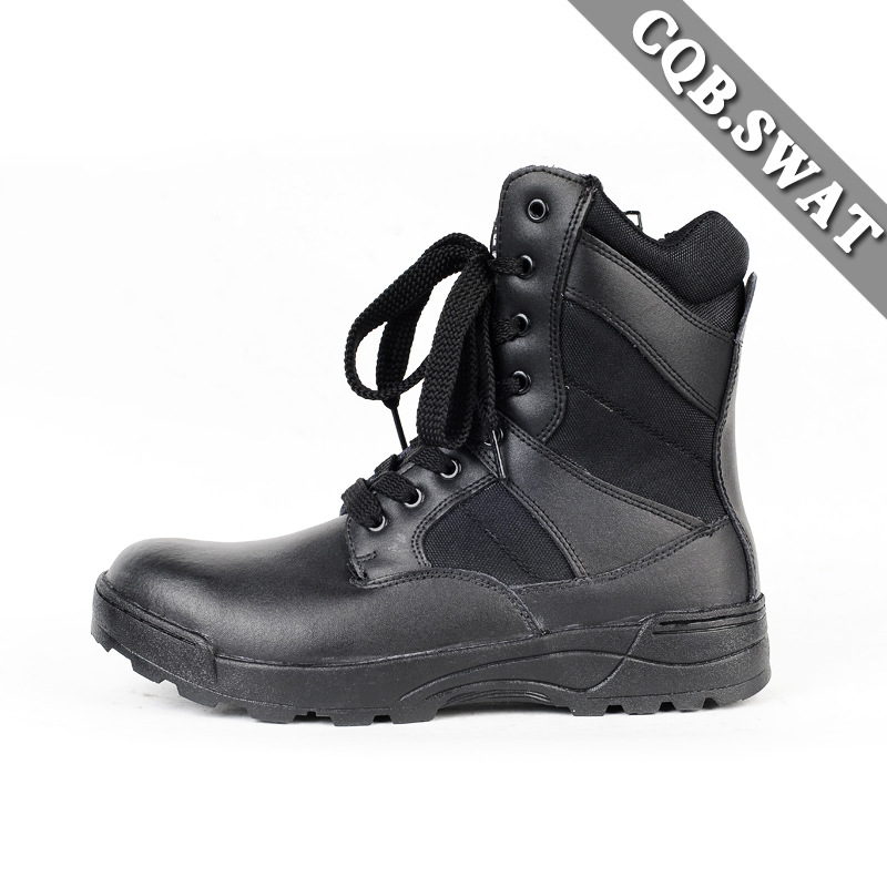 Ultra-Light Combat Boots CQB. Swat Ray Shark Lightweight Combat Boots Shock Absorption Hight-top Outdoor Tactical Boots Combat B
