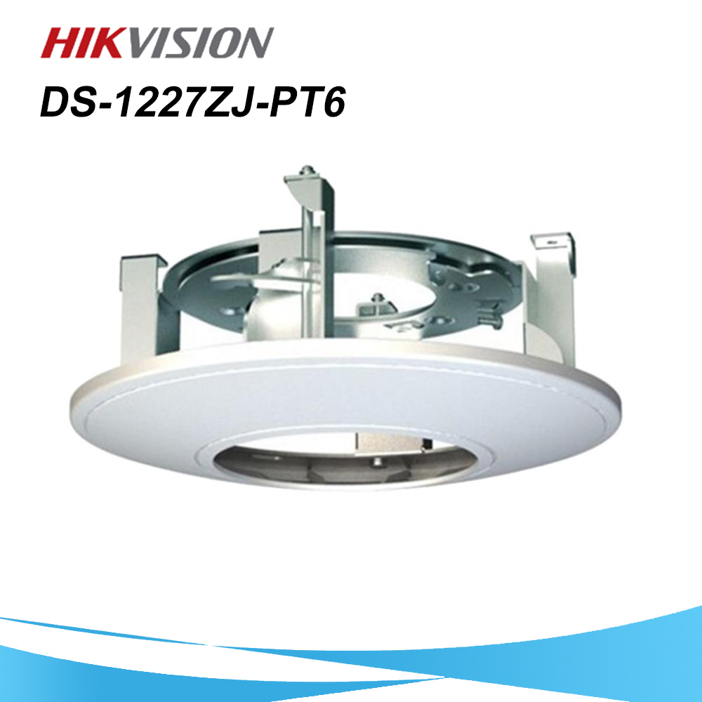 HIKVISION CCTV Camera Bracket DS-1227ZJ-PT6 For PTZ Camera Outdoor/Indoor Embedded Bracket For DS-2DE3304W-DE, DS-2DE3204W-DE