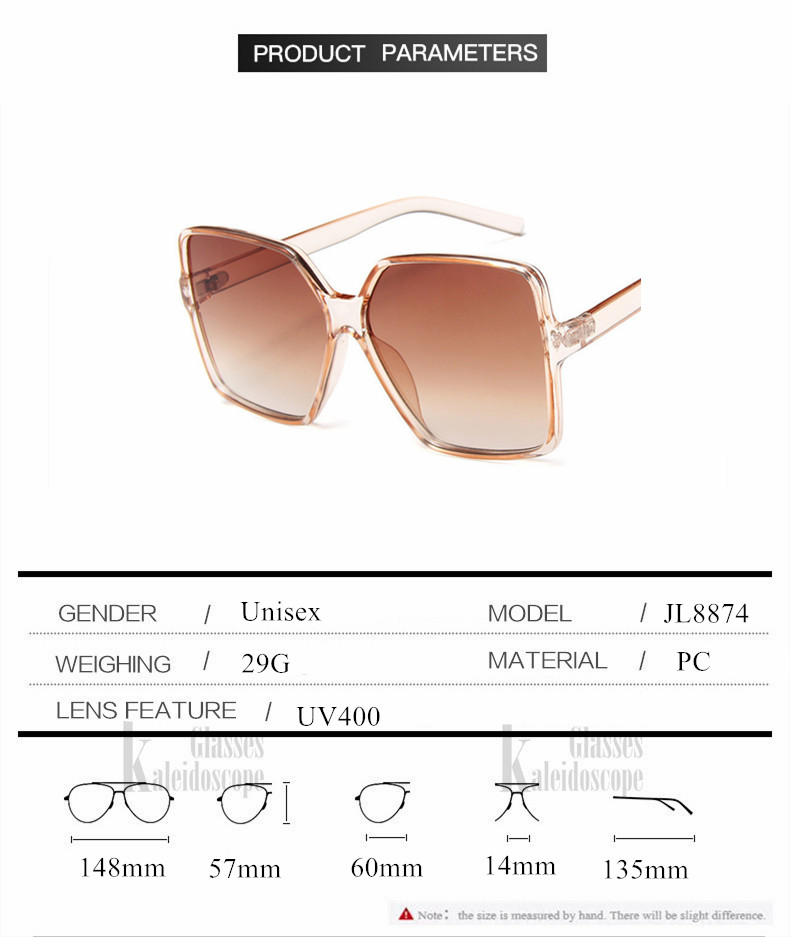 H3c6518a7552044a4ab1049355be5801dY - Oversized Sunglasses Women Vintage Brand Sun Glasses Shades UV400 Big Frames Sunglass Female  Male Retro Eyewear Pink White